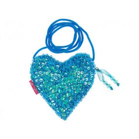 Souza Kindertasche EMMA Herz blau