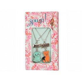 Souza Freundschafts Halsketten Set HUND Svea