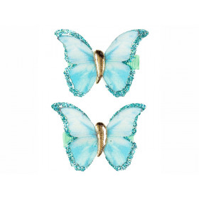 Souza Haarclips Schmetterling HILDE mint