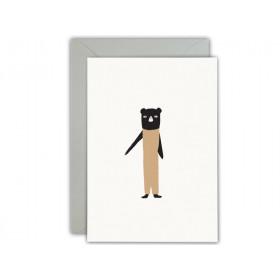 Ted & Tone Grußkarte 1. Geburtstag