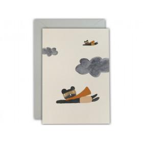 Ted & Tone Grußkarte SUPERHELDEN
