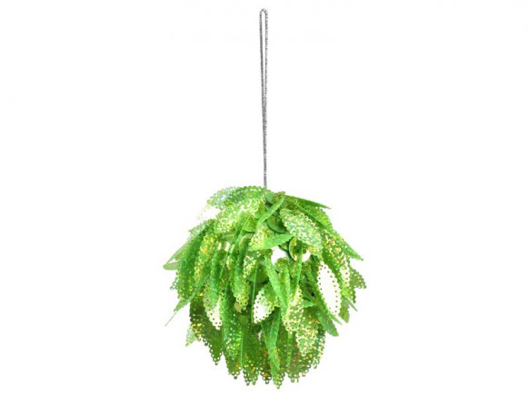 Funky Sequined X-Mas Ball by RICE (green)