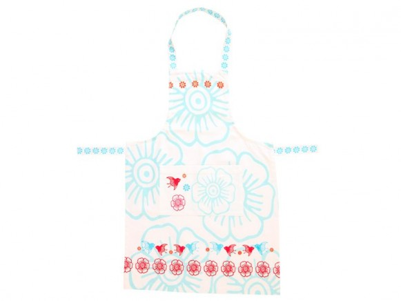 Apron Mina in blue by Overbeck & Friends