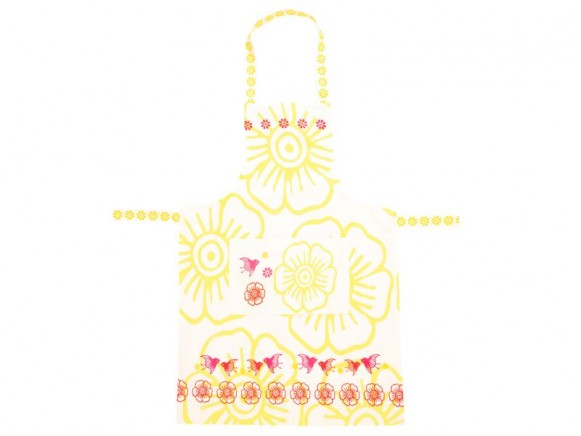 Apron Mina in yellow by Overbeck & Friends