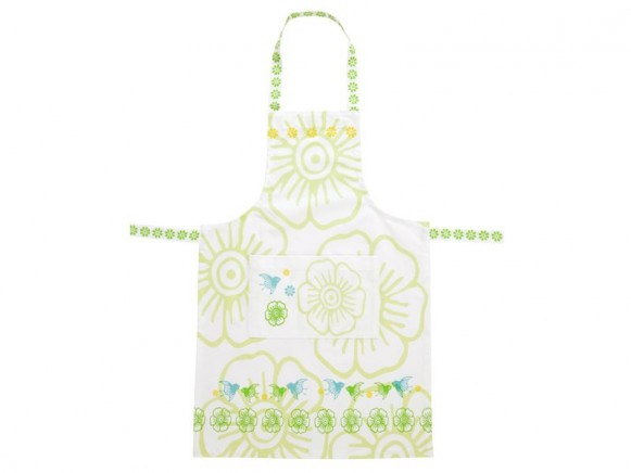 Apron Mina in green by Overbeck & Friends