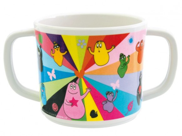 Double-handed cup Barbapapa by Petit Jour