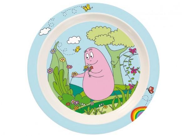 Kids plate Barbapapa by Petit Jour