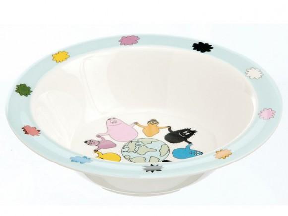 Melamine bowl Barbapapa by Petit Jour