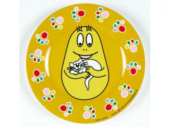 Melamine plate Barbakus by Petit Jour