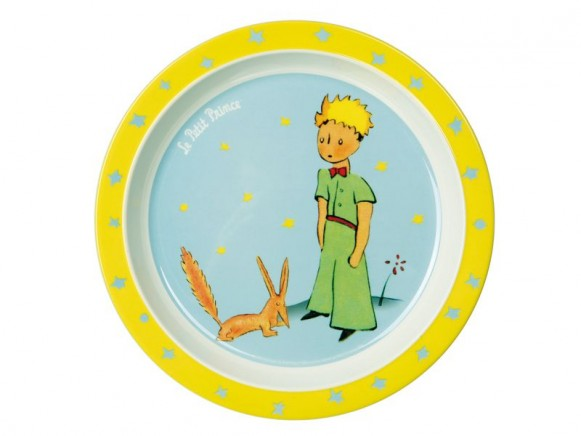 Melamine kids plate The little prince by Petit Jour