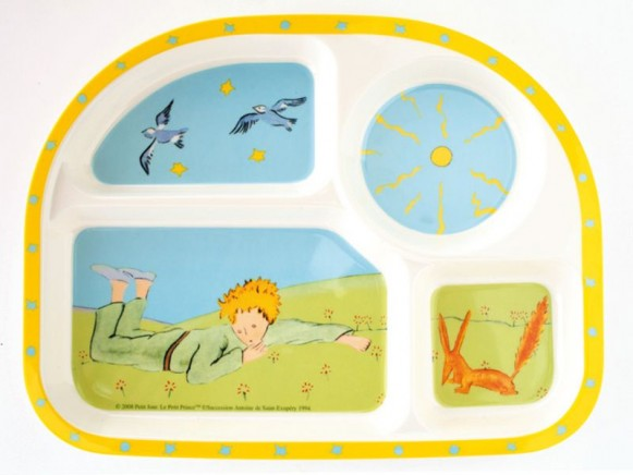 Shaped plate The little Prince by Petit Jour