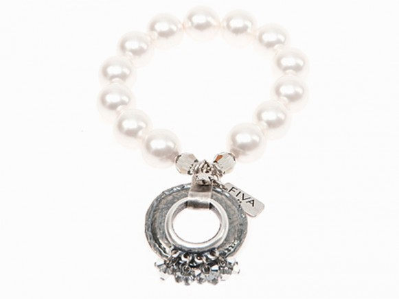 FIVA bracelet (AS, Murano, Swarovski, Perle)