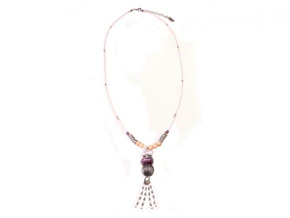 FIVA necklace (Perlmutt, Keramik, Murano, Swarovski)