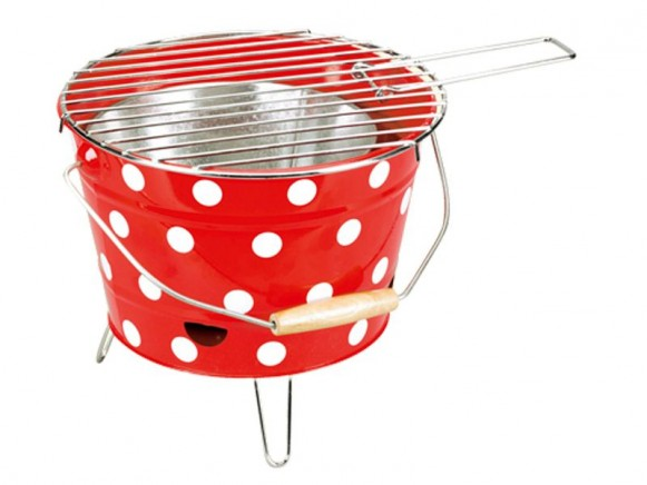 Barbecue with funny dots by Spiegelburg