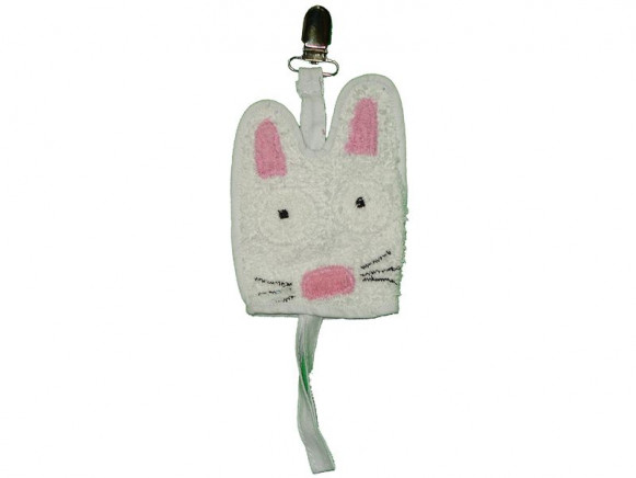 Dummy holder Rabbit by Petit Appetit