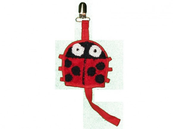 Dummy holder Ladybird by Petit Appetit