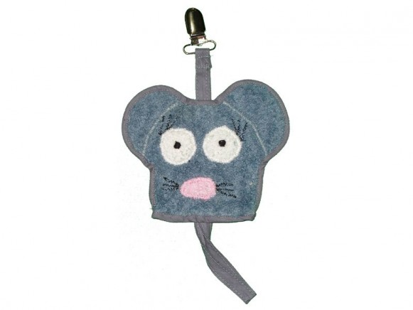 Dummy holder Mouse by Petit Appetit