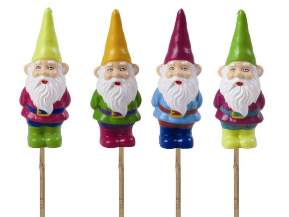 Gnome garden candle by RICE Denmark