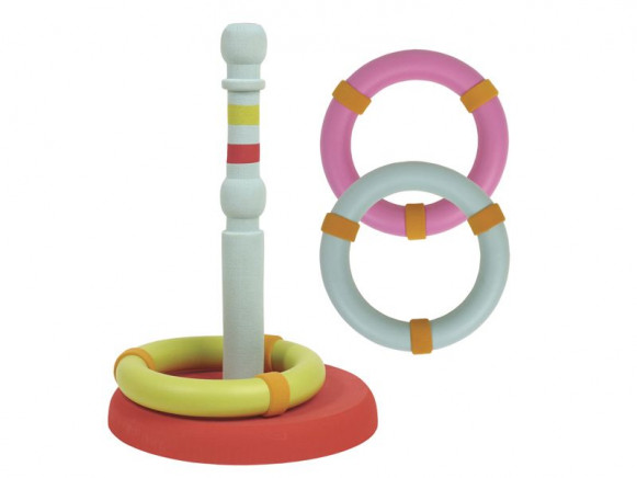 Ring tossing game in foam material by RICE