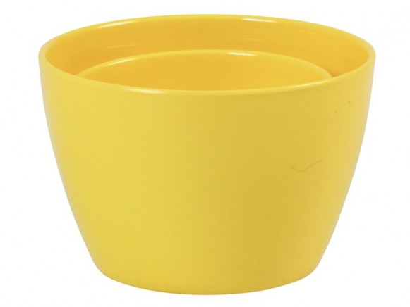 Melamine bowl by RICE Denmark (set of 2 - yellow)