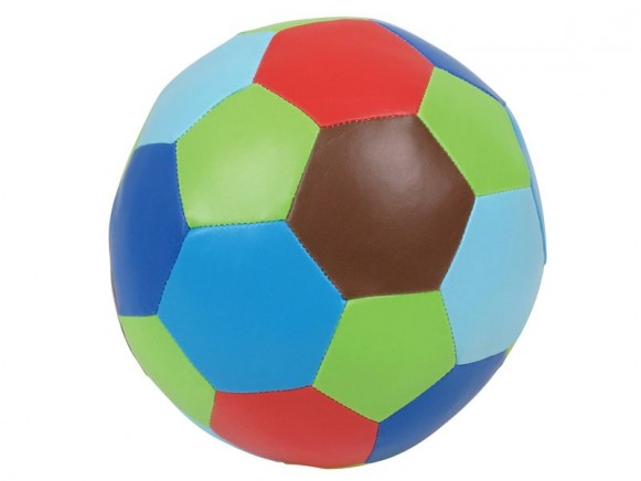Large soft ball in multicolour by RICE