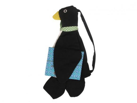 Kids gym bag - penguin shaped by RICE