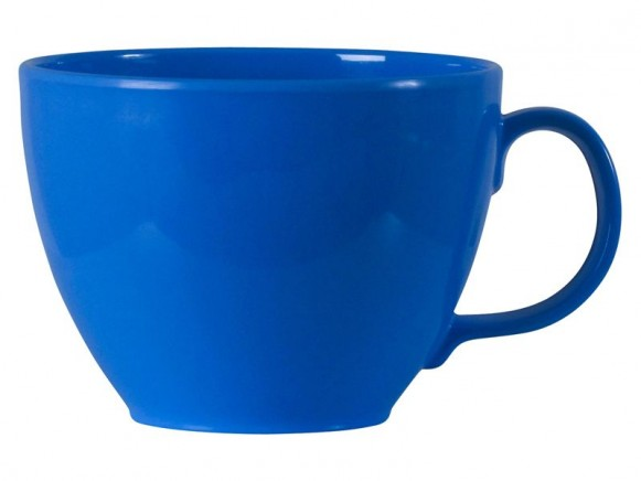 Melamine jumbo cup in blue by RICE