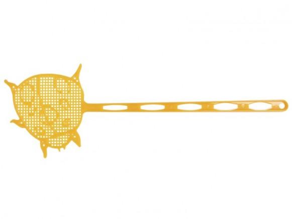 Orange flyswatter by RICE