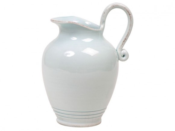 Large jug in mint by RICE