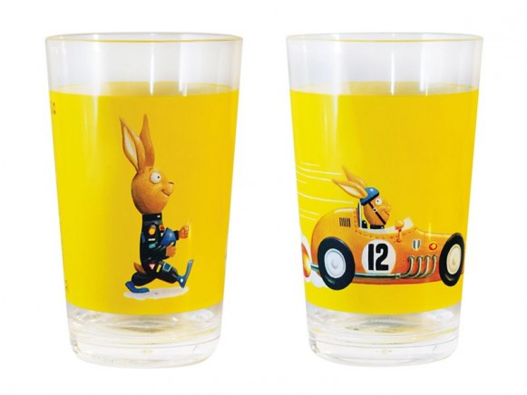 Cup with rabbit by Scratch