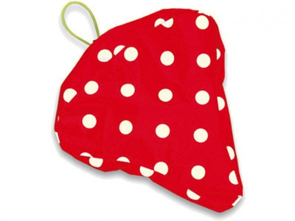 Saddle coat with Funny dots in red by Spiegelburg