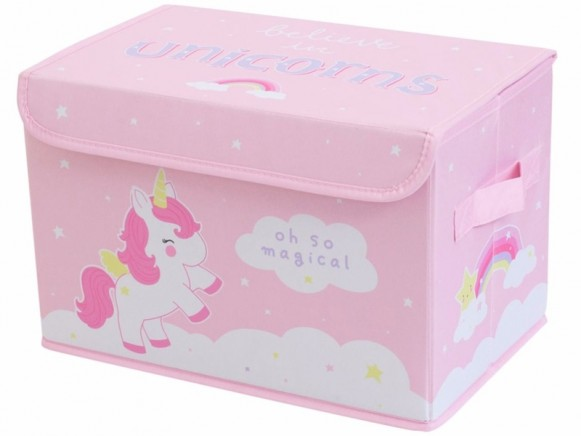 A Little Lovely Company storage box UNICORN