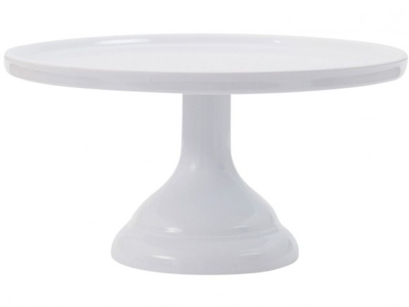A Little Lovely Company cake stand small white