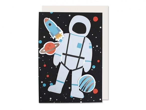 Ava & Yves Happy Birthday Card SPACE Decoration