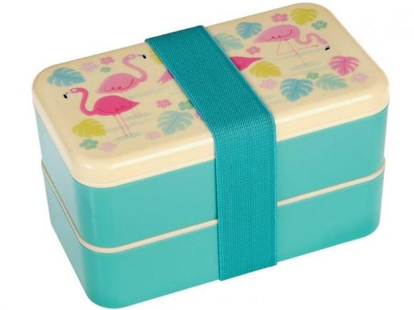 Bento box Flamingo large