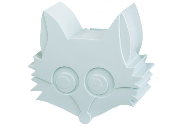 Blafre Snack Box FOX light blue