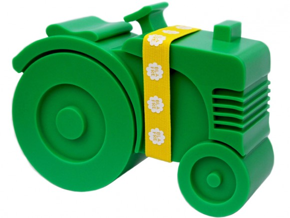 Blafre lunchbox tractor green