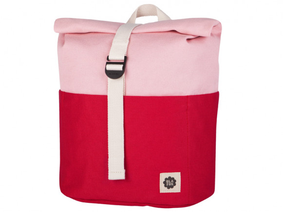 Blafre Backpack ROLLTOP red / pink 3-7 years