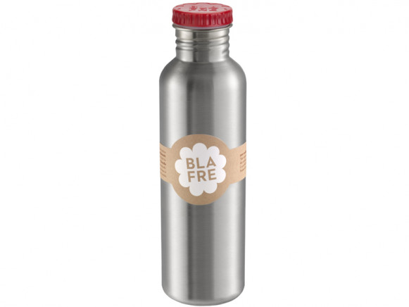 Blafre steel bottle 750ml red