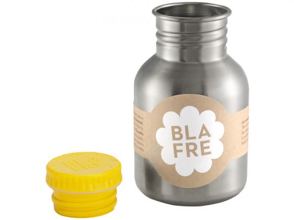 Blafre steel bottle small yellow