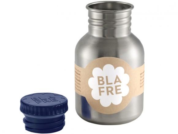 Blafre steel bottle small dark blue