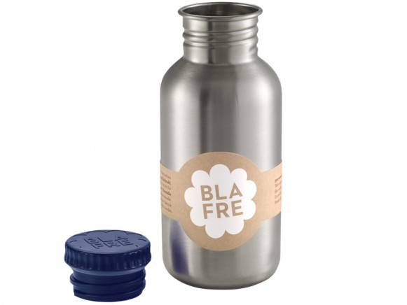 Blafre steel bottle dark blue