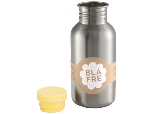 Blafre steel bottle pastel yellow