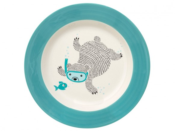 Bloomingville Ceramic Soup Plate Benjamin
