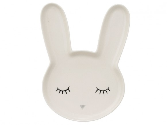 Bloomingville Ceramic Plate Smilla Rabbit