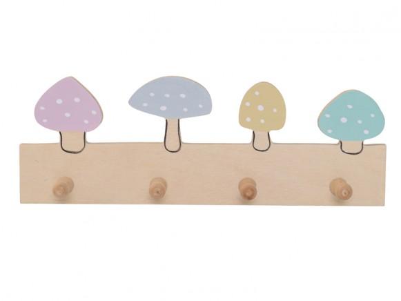 Bloomingville Coat Rack Lotus Mushrooms