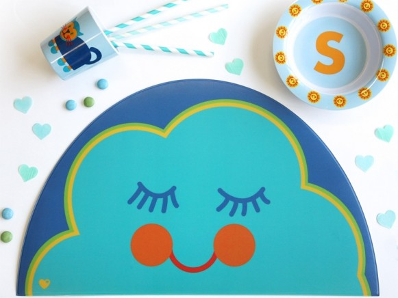 byGraziela placemat CLOUD