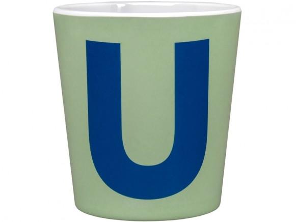byGraziela ABC melamine cup - U