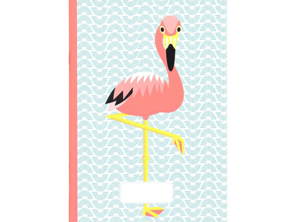 Coq en Pâte Notebook FLAMINGO