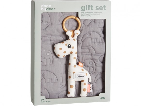 Done by Deer gift set with baby blanket